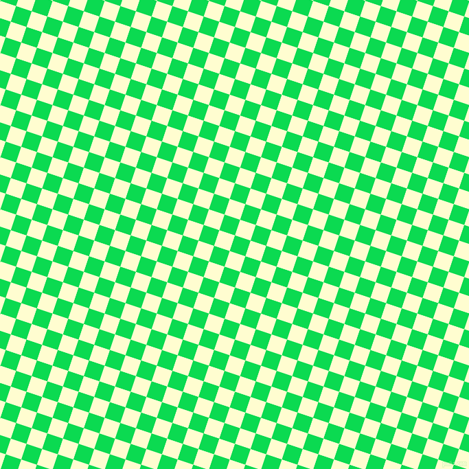72/162 degree angle diagonal checkered chequered squares checker pattern checkers background, 24 pixel squares size, Malachite and Cream checkers chequered checkered squares seamless tileable