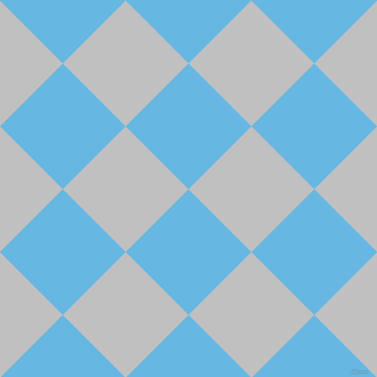 45/135 degree angle diagonal checkered chequered squares checker pattern checkers background, 175 pixel squares size, , Malibu and Silver checkers chequered checkered squares seamless tileable