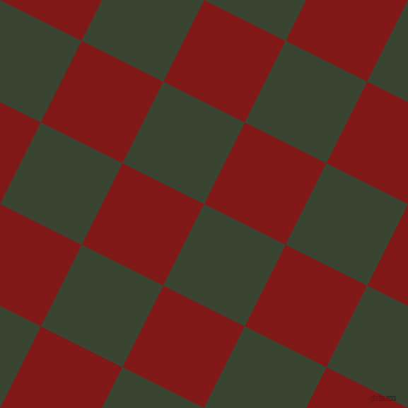 63/153 degree angle diagonal checkered chequered squares checker pattern checkers background, 129 pixel square size, , Mallard and Falu Red checkers chequered checkered squares seamless tileable