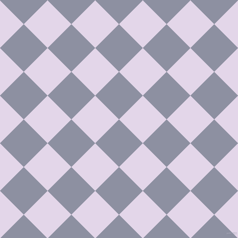 45/135 degree angle diagonal checkered chequered squares checker pattern checkers background, 117 pixel squares size, , Manatee and Blue Chalk checkers chequered checkered squares seamless tileable