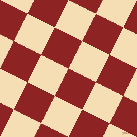 63/153 degree angle diagonal checkered chequered squares checker pattern checkers background, 116 pixel squares size, , Mandarian Orange and Wheat checkers chequered checkered squares seamless tileable