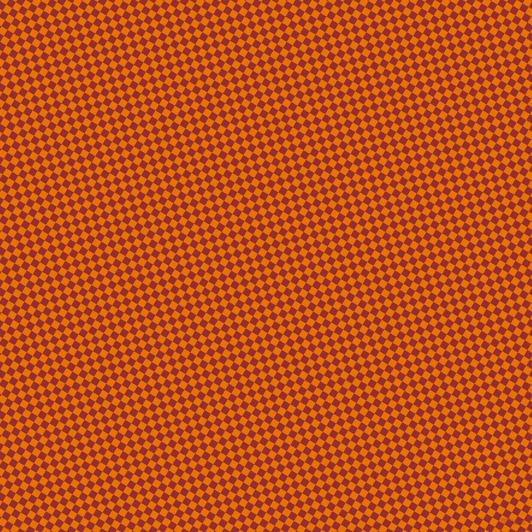 59/149 degree angle diagonal checkered chequered squares checker pattern checkers background, 10 pixel square size, , Mango Tango and Guardsman Red checkers chequered checkered squares seamless tileable