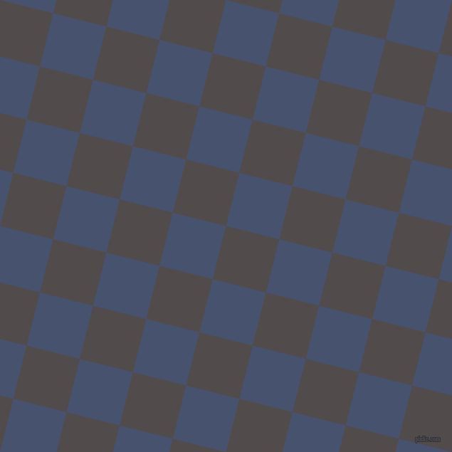 76/166 degree angle diagonal checkered chequered squares checker pattern checkers background, 77 pixel square size, , Matterhorn and East Bay checkers chequered checkered squares seamless tileable