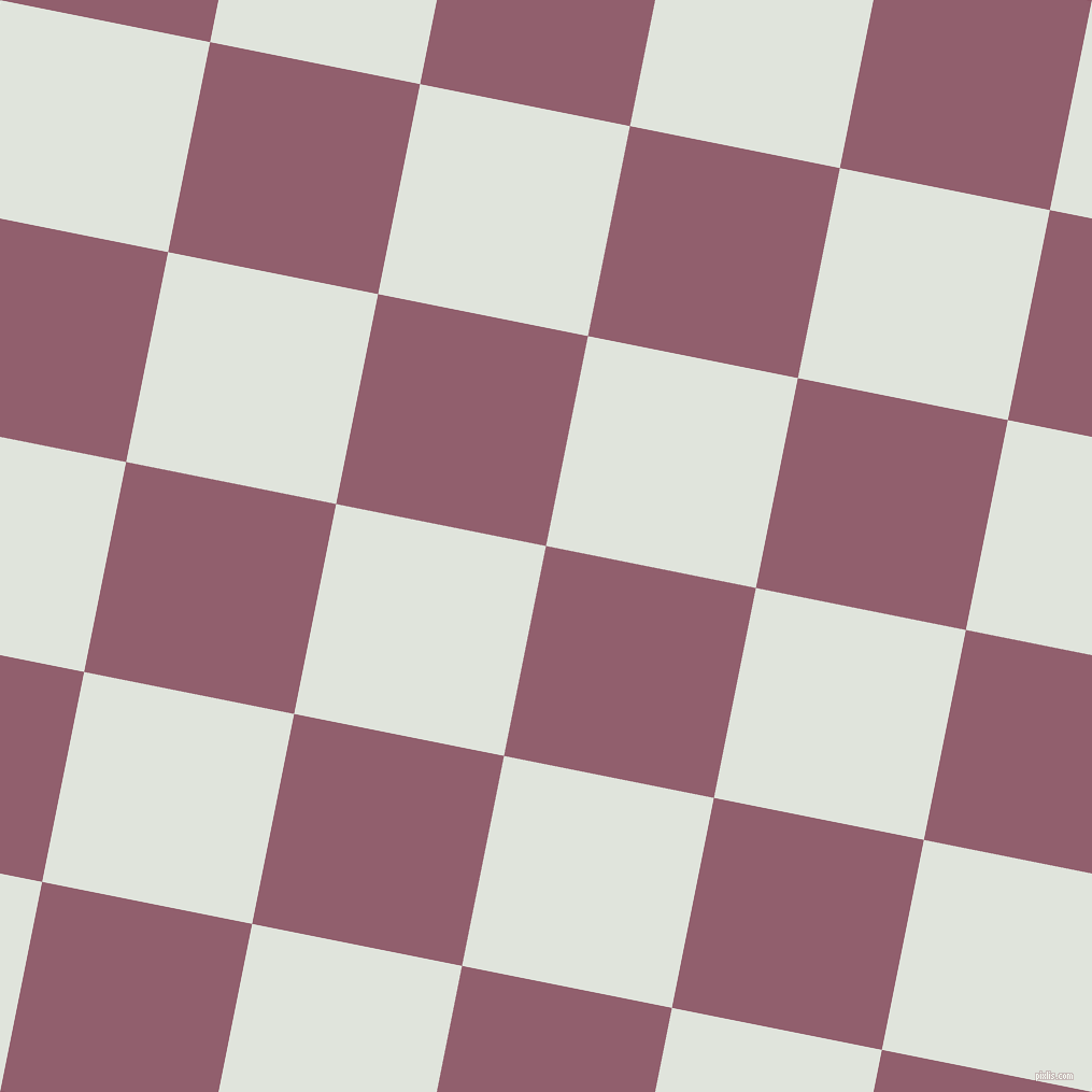 79/169 degree angle diagonal checkered chequered squares checker pattern checkers background, 199 pixel squares size, , Mauve Taupe and Catskill White checkers chequered checkered squares seamless tileable