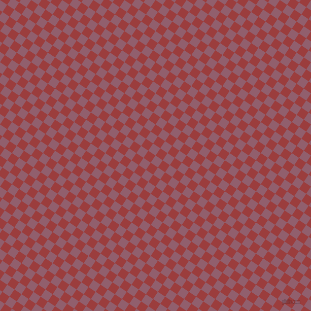 56/146 degree angle diagonal checkered chequered squares checker pattern checkers background, 17 pixel squares size, , Mauve Taupe and Mexican Red checkers chequered checkered squares seamless tileable