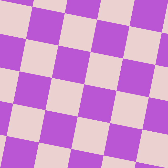 79/169 degree angle diagonal checkered chequered squares checker pattern checkers background, 135 pixel square size, , Medium Orchid and Vanilla Ice checkers chequered checkered squares seamless tileable