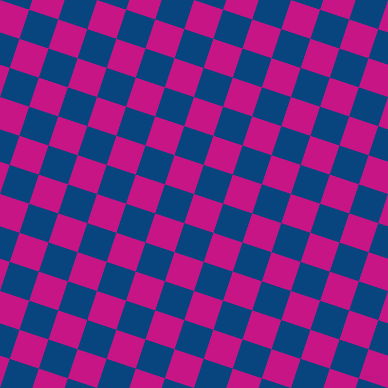 72/162 degree angle diagonal checkered chequered squares checker pattern checkers background, 63 pixel square size, , Medium Violet Red and Dark Cerulean checkers chequered checkered squares seamless tileable
