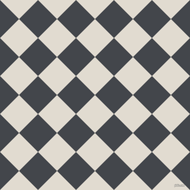 45/135 degree angle diagonal checkered chequered squares checker pattern checkers background, 94 pixel squares size, , Merino and Steel Grey checkers chequered checkered squares seamless tileable