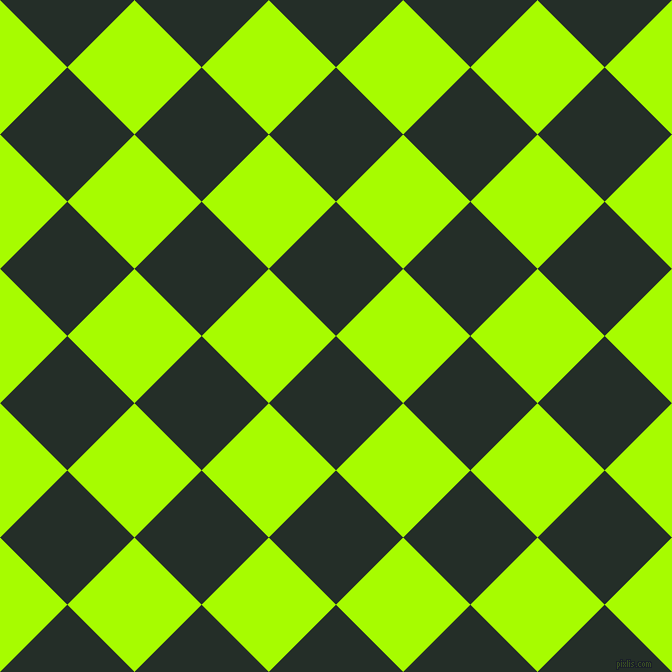 45/135 degree angle diagonal checkered chequered squares checker pattern checkers background, 95 pixel square size, , Midnight Moss and Spring Bud checkers chequered checkered squares seamless tileable