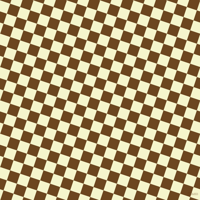 72/162 degree angle diagonal checkered chequered squares checker pattern checkers background, 36 pixel squares size, Mimosa and Antique Brass checkers chequered checkered squares seamless tileable