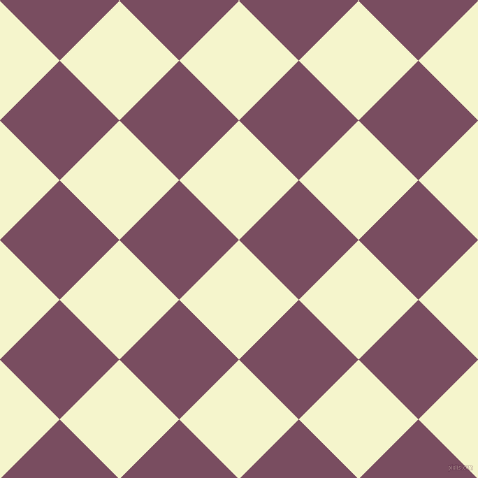 45/135 degree angle diagonal checkered chequered squares checker pattern checkers background, 121 pixel square size, , Mimosa and Cosmic checkers chequered checkered squares seamless tileable
