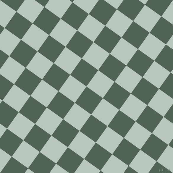 54/144 degree angle diagonal checkered chequered squares checker pattern checkers background, 68 pixel square size, , Mineral Green and Nebula checkers chequered checkered squares seamless tileable