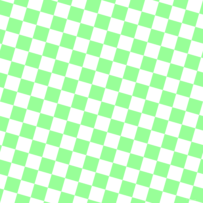 Mint Green and White checkers chequered checkered squares