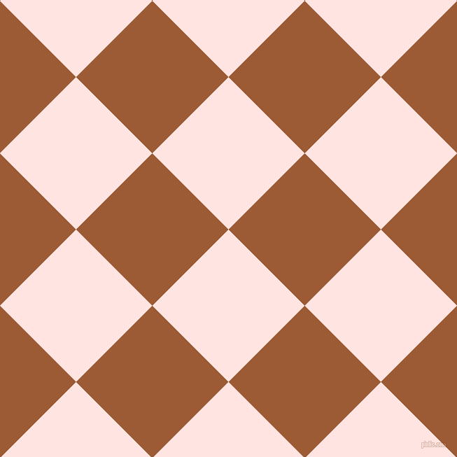 45/135 degree angle diagonal checkered chequered squares checker pattern checkers background, 154 pixel square size, , Misty Rose and Indochine checkers chequered checkered squares seamless tileable