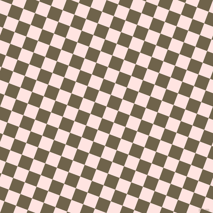 69/159 degree angle diagonal checkered chequered squares checker pattern checkers background, 43 pixel square size, , Misty Rose and Soya Bean checkers chequered checkered squares seamless tileable