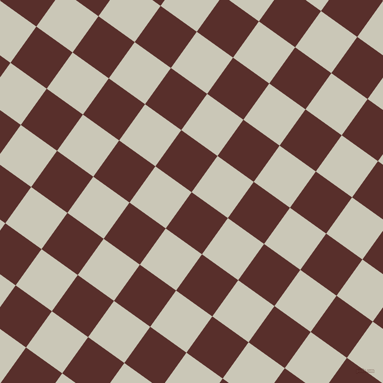 54/144 degree angle diagonal checkered chequered squares checker pattern checkers background, 88 pixel square size, , Moccaccino and Chrome White checkers chequered checkered squares seamless tileable