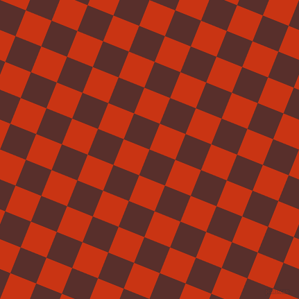 68/158 degree angle diagonal checkered chequered squares checker pattern checkers background, 40 pixel squares size, , Moccaccino and Harley Davidson Orange checkers chequered checkered squares seamless tileable