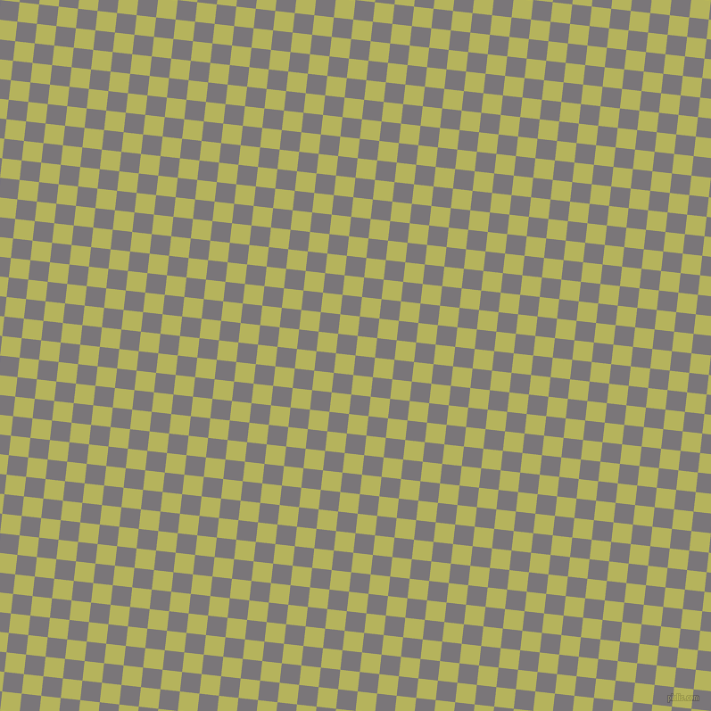 84/174 degree angle diagonal checkered chequered squares checker pattern checkers background, 22 pixel square size, , Monsoon and Olive Green checkers chequered checkered squares seamless tileable