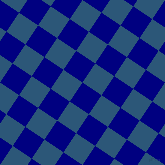 56/146 degree angle diagonal checkered chequered squares checker pattern checkers background, 75 pixel square size, , Navy and Venice Blue checkers chequered checkered squares seamless tileable