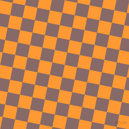 79/169 degree angle diagonal checkered chequered squares checker pattern checkers background, 41 pixel squares size, , Neon Carrot and Ferra checkers chequered checkered squares seamless tileable