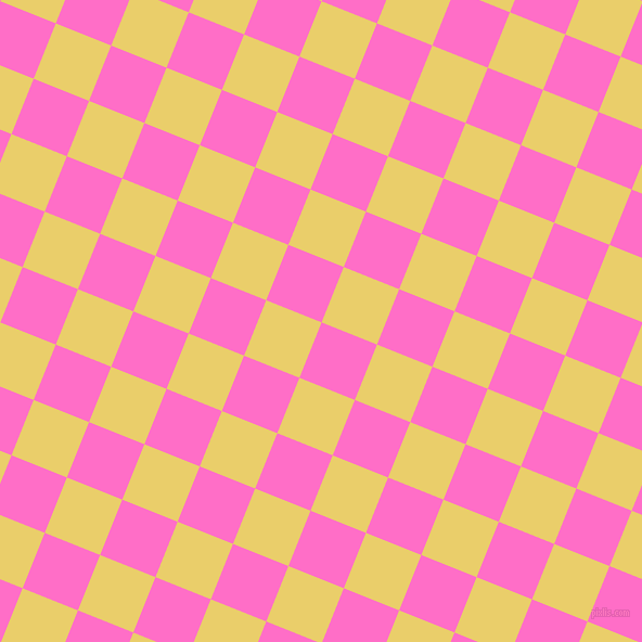 68/158 degree angle diagonal checkered chequered squares checker pattern checkers background, 55 pixel squares size, , Neon Pink and Golden Sand checkers chequered checkered squares seamless tileable