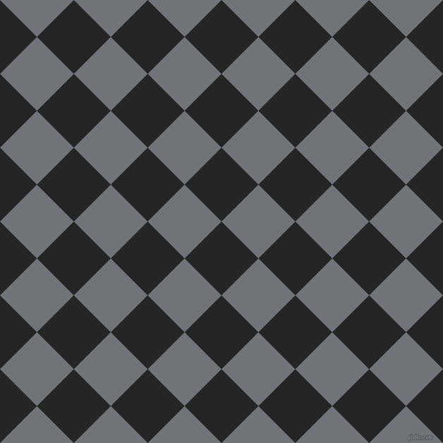 45/135 degree angle diagonal checkered chequered squares checker pattern checkers background, 74 pixel squares size, , Nero and Raven checkers chequered checkered squares seamless tileable