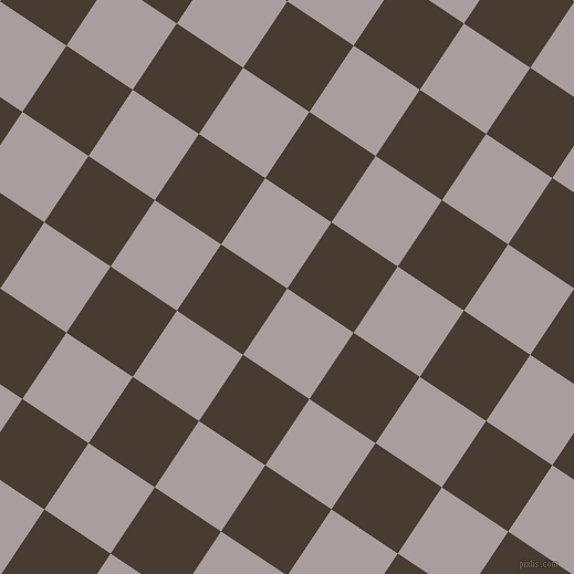 56/146 degree angle diagonal checkered chequered squares checker pattern checkers background, 72 pixel squares size, , Nobel and Taupe checkers chequered checkered squares seamless tileable
