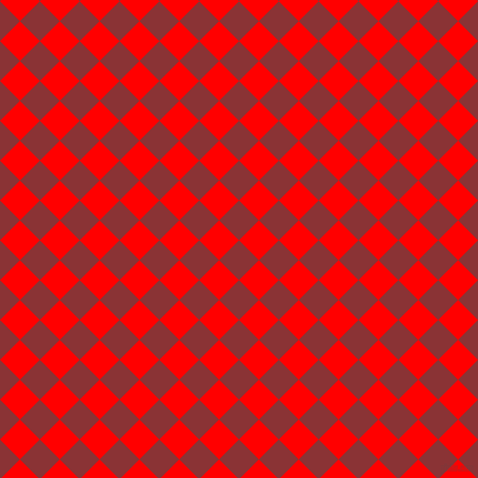 45/135 degree angle diagonal checkered chequered squares checker pattern checkers background, 31 pixel square size, , Old Brick and Red checkers chequered checkered squares seamless tileable