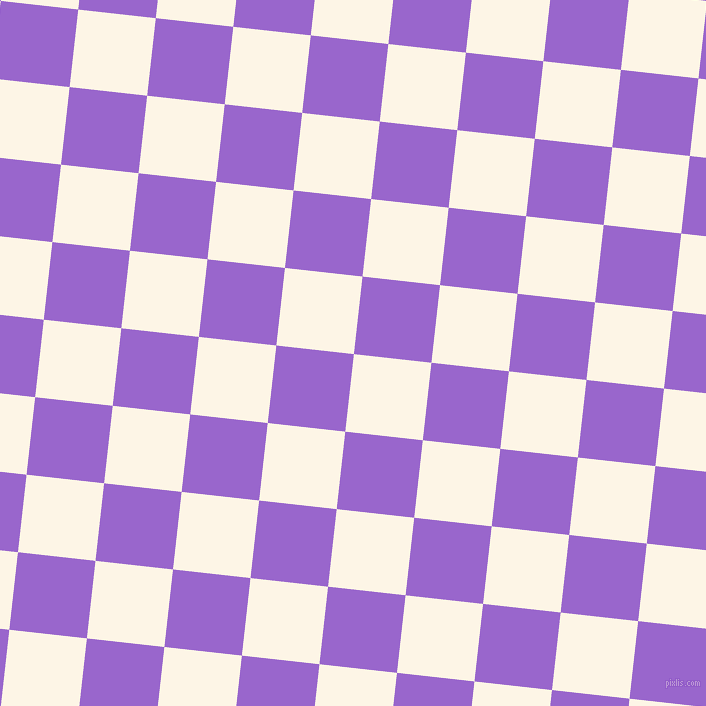 84/174 degree angle diagonal checkered chequered squares checker pattern checkers background, 78 pixel square size, , Old Lace and Amethyst checkers chequered checkered squares seamless tileable