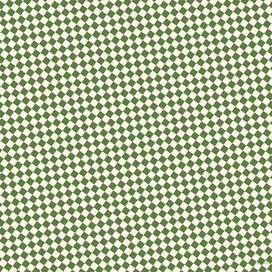 54/144 degree angle diagonal checkered chequered squares checker pattern checkers background, 13 pixel square size, , Old Lace and Dingley checkers chequered checkered squares seamless tileable