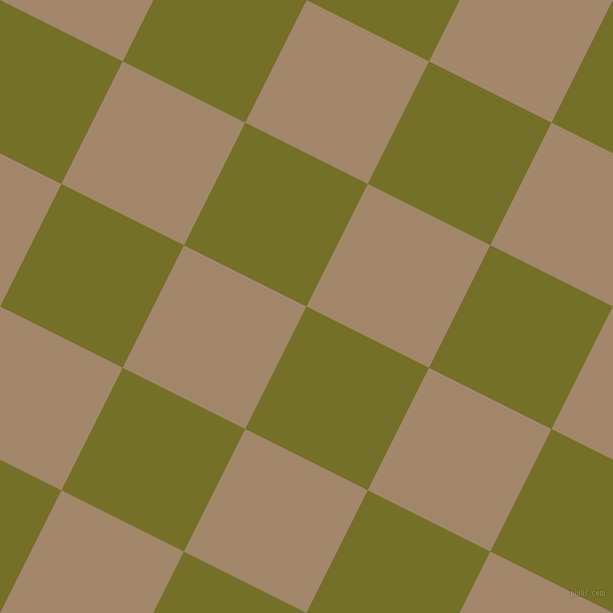 63/153 degree angle diagonal checkered chequered squares checker pattern checkers background, 137 pixel square size, , Olivetone and Sandal checkers chequered checkered squares seamless tileable