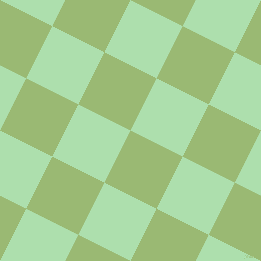 63/153 degree angle diagonal checkered chequered squares checker pattern checkers background, 194 pixel squares size, , Olivine and Moss Green checkers chequered checkered squares seamless tileable