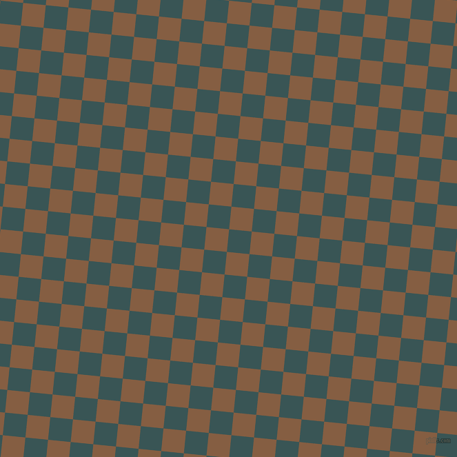 84/174 degree angle diagonal checkered chequered squares checker pattern checkers background, 33 pixel squares size, , Oracle and Dark Wood checkers chequered checkered squares seamless tileable