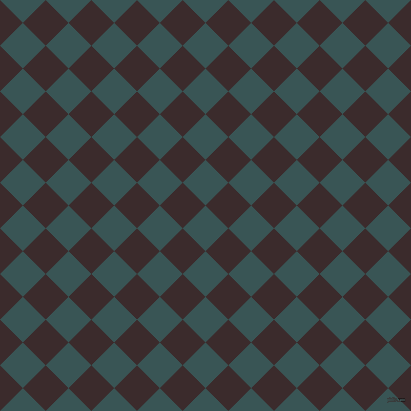 45/135 degree angle diagonal checkered chequered squares checker pattern checkers background, 63 pixel squares size, , Oracle and Havana checkers chequered checkered squares seamless tileable