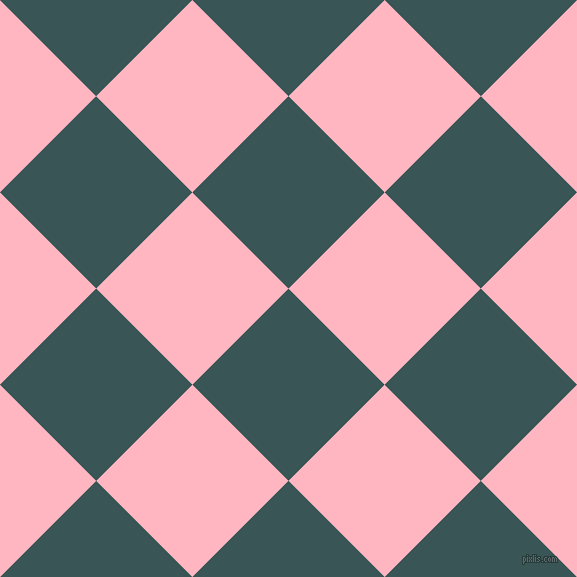 45/135 degree angle diagonal checkered chequered squares checker pattern checkers background, 136 pixel squares size, , Oracle and Light Pink checkers chequered checkered squares seamless tileable