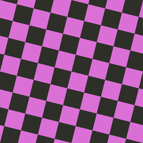 76/166 degree angle diagonal checkered chequered squares checker pattern checkers background, 60 pixel square size, , Orchid and Eternity checkers chequered checkered squares seamless tileable