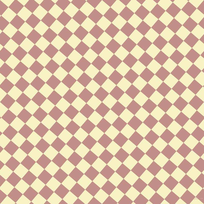 49/139 degree angle diagonal checkered chequered squares checker pattern checkers background, 43 pixel squares size, , Oriental Pink and Corn Field checkers chequered checkered squares seamless tileable