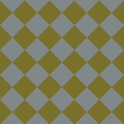 45/135 degree angle diagonal checkered chequered squares checker pattern checkers background, 59 pixel square size, , Oslo Grey and Crete checkers chequered checkered squares seamless tileable