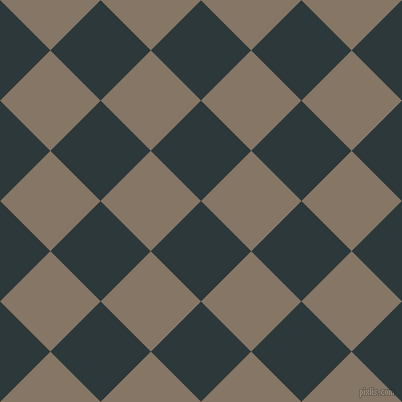 45/135 degree angle diagonal checkered chequered squares checker pattern checkers background, 71 pixel squares size, , Outer Space and Sand Dune checkers chequered checkered squares seamless tileable