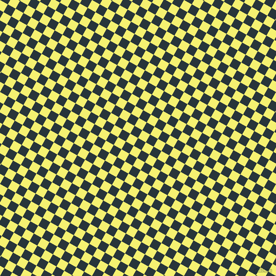 61/151 degree angle diagonal checkered chequered squares checker pattern checkers background, 18 pixel squares size, Oxford Blue and Dolly checkers chequered checkered squares seamless tileable