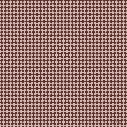 45/135 degree angle diagonal checkered chequered squares checker pattern checkers background, 10 pixel square size, , Oyster Pink and Redwood checkers chequered checkered squares seamless tileable