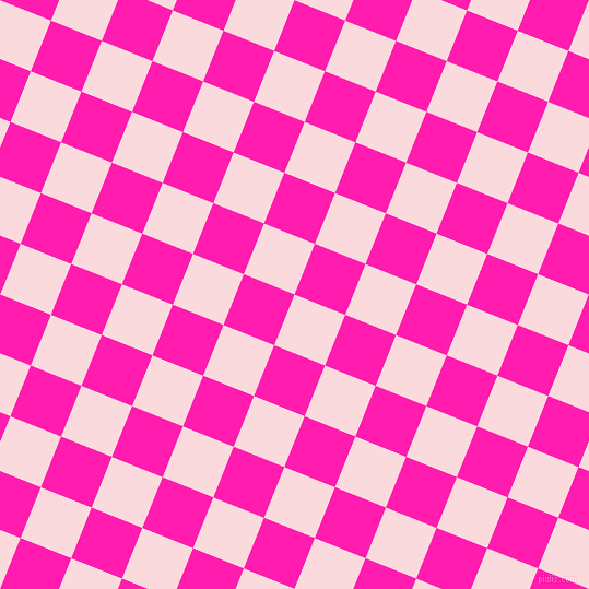68/158 degree angle diagonal checkered chequered squares checker pattern checkers background, 50 pixel square size, , Pale Pink and Spicy Pink checkers chequered checkered squares seamless tileable