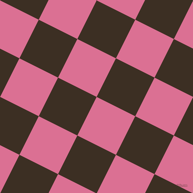 63/153 degree angle diagonal checkered chequered squares checker pattern checkers background, 138 pixel squares size, , Pale Violet Red and Cola checkers chequered checkered squares seamless tileable