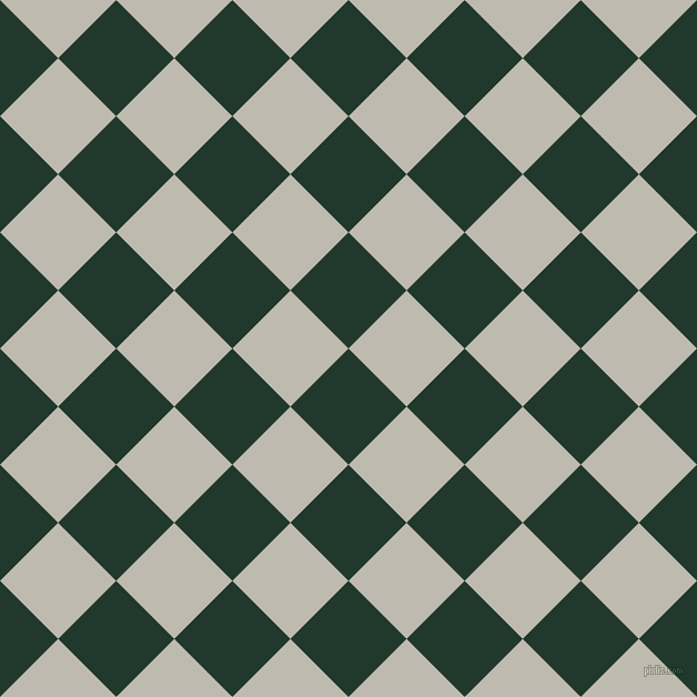 45/135 degree angle diagonal checkered chequered squares checker pattern checkers background, 74 pixel squares size, , Palm Green and Cotton Seed checkers chequered checkered squares seamless tileable