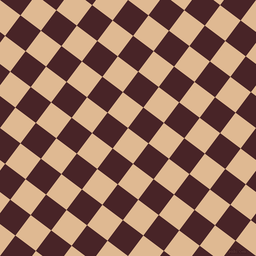 53/143 degree angle diagonal checkered chequered squares checker pattern checkers background, 51 pixel squares size, , Pancho and Bulgarian Rose checkers chequered checkered squares seamless tileable