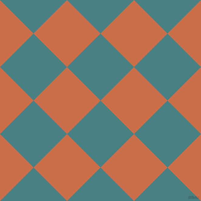 45/135 degree angle diagonal checkered chequered squares checker pattern checkers background, 156 pixel squares size, , Paradiso and Red Damask checkers chequered checkered squares seamless tileable