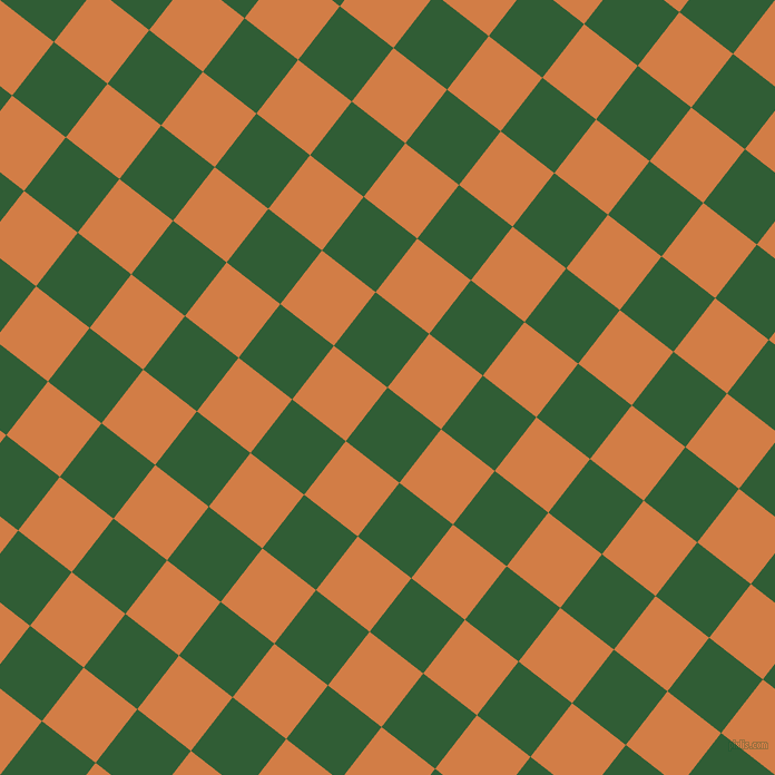52/142 degree angle diagonal checkered chequered squares checker pattern checkers background, 61 pixel squares size, , Parsley and Raw Sienna checkers chequered checkered squares seamless tileable