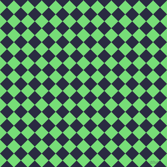 45/135 degree angle diagonal checkered chequered squares checker pattern checkers background, 32 pixel squares size, , Pastel Green and Valhalla checkers chequered checkered squares seamless tileable