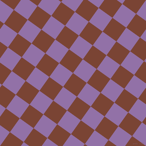 54/144 degree angle diagonal checkered chequered squares checker pattern checkers background, 56 pixel square size, , Peanut and Ce Soir checkers chequered checkered squares seamless tileable