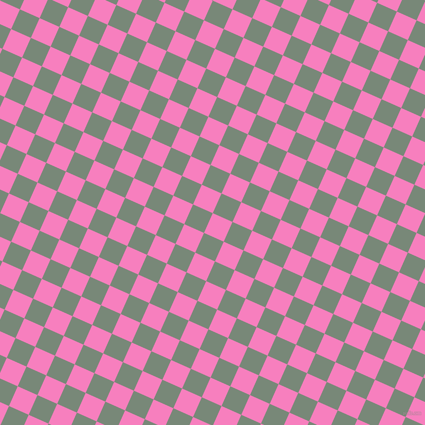 66/156 degree angle diagonal checkered chequered squares checker pattern checkers background, 42 pixel square size, , Persian Pink and Davy